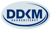 DDKM akkrediteret, lille logo, jpg